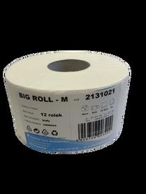 Papier toaletowy BIG ROLL M 2131021 biały celuloza op.12 szt.